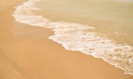 Красивый пляж песка Стоковые Изображения RF