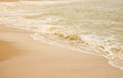 Красивый пляж песка & x28; sandy& x29; Стоковые Изображения RF