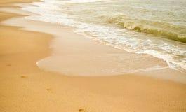 Красивый пляж песка & x28; sandy& x29; Стоковое Изображение