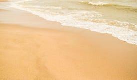 Красивый пляж песка & x28; sandy& x29; Стоковые Фотографии RF