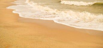 Красивый пляж песка & x28; sandy& x29; Стоковая Фотография