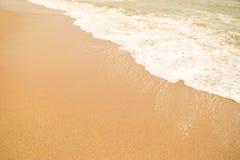 Красивый пляж песка & x28; sandy& x29; Стоковые Фото
