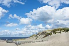 Красивый пляж трески накидки, Provincetown, МАМЫ стоковые фотографии rf