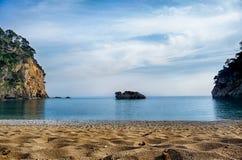 Красивый пляж Стоковые Изображения RF