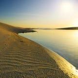 Красивый пляж Стоковое Изображение