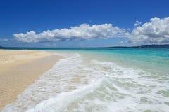 Красивый пляж стоковое изображение rf