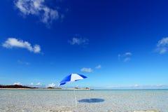Красивый пляж стоковое фото