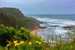 Красивый пляж Johanna в Виктории Стоковое Изображение RF