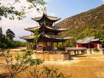 Красивый древний храм на взморье, Китай - изображение запаса стоковое фото rf