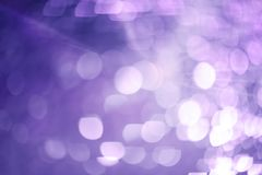 Красивый розовый луч bokeh света Стоковые Изображения RF
