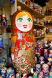 Красивый русский забавляется куклы Стоковые Изображения RF