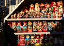 Красивый русский забавляется куклы Стоковое Изображение