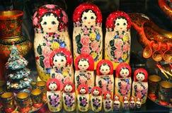Красивый русский забавляется куклы Стоковая Фотография RF