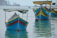 Красивый рыбацкие лодки Стоковая Фотография