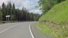 Красивый серпентин горы Chuysky Trakt акции видеоматериалы