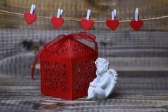 Красивый состав праздника валентинки Стоковые Фотографии RF
