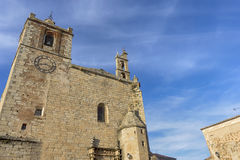 Красивый средневековый город Caceres в эстремадуре Стоковые Изображения