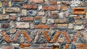 Красивый старой красочной кирпичной стены Стоковые Изображения