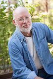 красивый старший портрета человека Стоковые Изображения