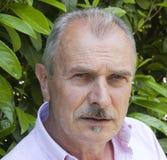 красивый старший человека Стоковое Изображение RF