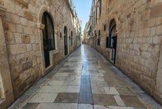 Красивый старый город на адриатическом побережье стоковое фото rf