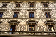 Красивый старый дом в Флоренсе Стоковые Фотографии RF