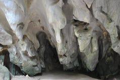 Красивый сталактит пещеры Стоковая Фотография RF