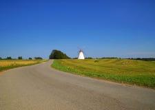 Красивый, сценарный, ландшафт лета Стоковое Фото