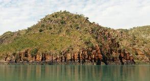 Красивый сценарный взгляд островов в архипелаге Buccaneer, западной Австралии Стоковая Фотография