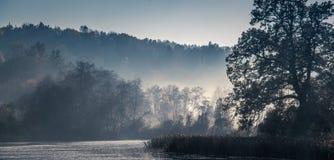 Красивый сценарный ландшафт природы стоковые фотографии rf