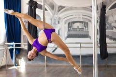 Красивый танцор поляка Стоковое Фото