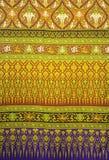 Красивый традиционной тайской ткани стоковая фотография rf