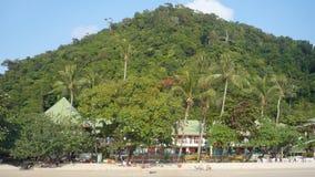 Красивый тропический зеленый остров Стоковое фото RF