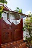 Красивый тропический малый родной дом Стоковые Изображения RF