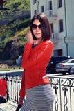 Красивый турист женщины. Стоковая Фотография RF