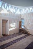 Красивый украшенный интерьер мечети Стоковое Фото