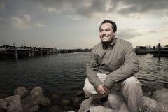 красивый усмехаться мужчины Стоковая Фотография