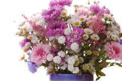 Красивый фиолетовый букет Стоковые Фото
