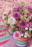 Красивый фиолетовый букет Стоковое Фото