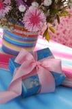 Красивый фиолетовый букет Стоковые Изображения RF
