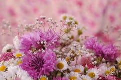 Красивый фиолетовый букет Стоковые Изображения