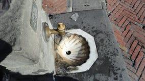 Красивый фонтан в Италии Стоковое Фото