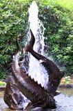Красивый фонтан Стоковая Фотография RF