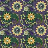 Красивый флористический традиционный орнамент Стоковая Фотография