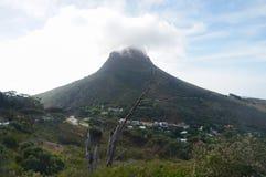 Красивый холм сигнала, Кейптаун, Южная Африка стоковое фото