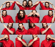 красивый человек Стоковая Фотография RF