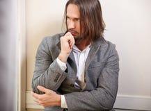 красивый человек Стоковая Фотография