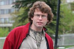 красивый человек outdoors Стоковая Фотография RF
