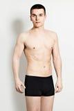 Красивый человек в нижнем белье Стоковое Фото