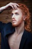 Красивый человек metrosexual Стоковое фото RF
